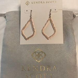 🆕Kendra Scott Sophia Drop Earrings In Rose Gold